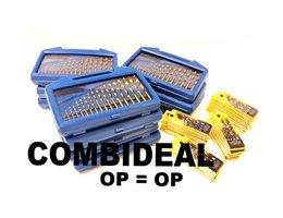COMBIDEAL! Borenset metaal + Borenset hout (NOG 1 BESCHIKBAAR!)
