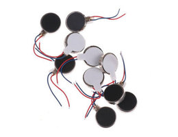 trilmotor telefoon 10x DC 3 V 70mA 12000 RPM Voor Telefoon Coin Platte Vibreren