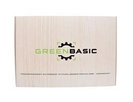 Greenbasic® Berken triplex 3mm A4 Doos/10 stuks