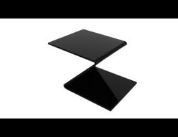 Perspex 3mm perspex plaat GS zwart 3 mm