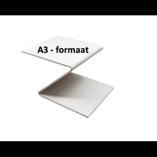Plexiglas® Perspex -wit - 3mm A3 - formaat
