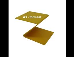 Plexiglas® Perspex Geel 3mm A3 - formaat