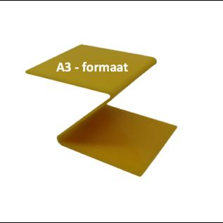Plexiglas® Perspex -Geel - 3mm A3 - formaat