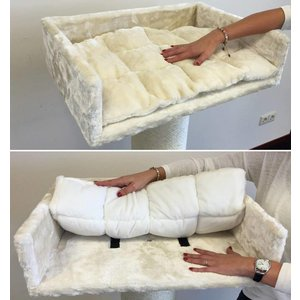 RHRQuality Fautuil Lounge + Coussin Cream