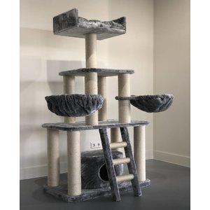 RHRQuality Arbre à chat Panther Light Grey