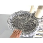 RHRQuality Hamac 45cm de Luxe Light Grey Ø12cm