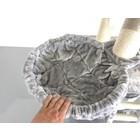 RHRQuality Hamaca 45cm de Luxe Light Grey Ø12cm