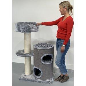 RHRQuality Arbre à chat Cat Pleasure Light Grey