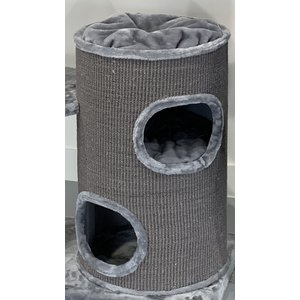 RHRQuality Rascador Cat Pleasure Light Grey