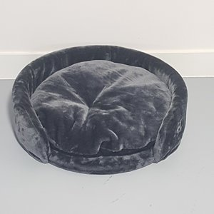 RHRQuality Fauteuil rond Chartreux Ø60 + Coussin Dark Grey