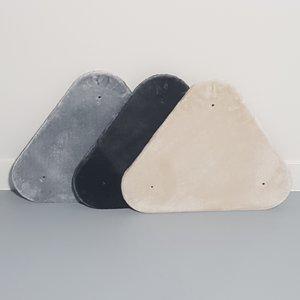 RHRQuality Triángulo Meseta Superior - Maine Coon Fantasy 60x50 Light Grey