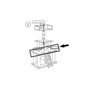 RHRQuality Meseta Media - Panther 100x60 Light Grey