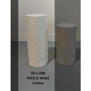 RHRQuality Poteau sisal 50x20 M10 (1 Trous)