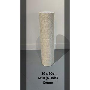 RHRQuality Poteau sisal 80x20 M10 (4 trous)