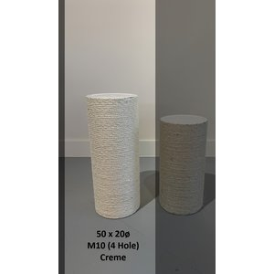 RHRQuality Polo de sisal 50x20 M10 (4 Tornillos)