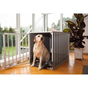 Hundos Chenil pour chiens avec porte sur le côté court Taille - S