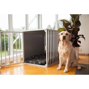 Hundos Chenil pour chiens avec porte sur le côté court Taille - L