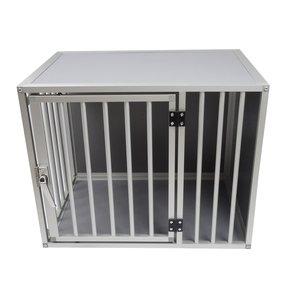 Hundos Chenil pour chiens avec porte sur le côté long Taille - S