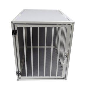 Hundos Chenil pour chiens avec porte sur le côté court Taille - M