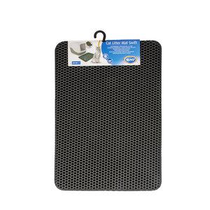 Duvo+ Tapete para caja de arena XL - Negro