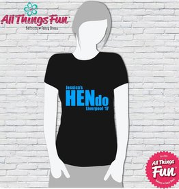 Hen Night T-Shirt Print - HN04