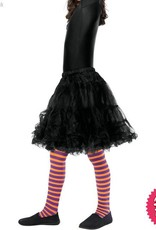 Smiffys *SP* Childs Orange & Purple Striped Wicked Witch Tights