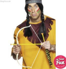 Smiffys Indian Bow and Arrow Set
