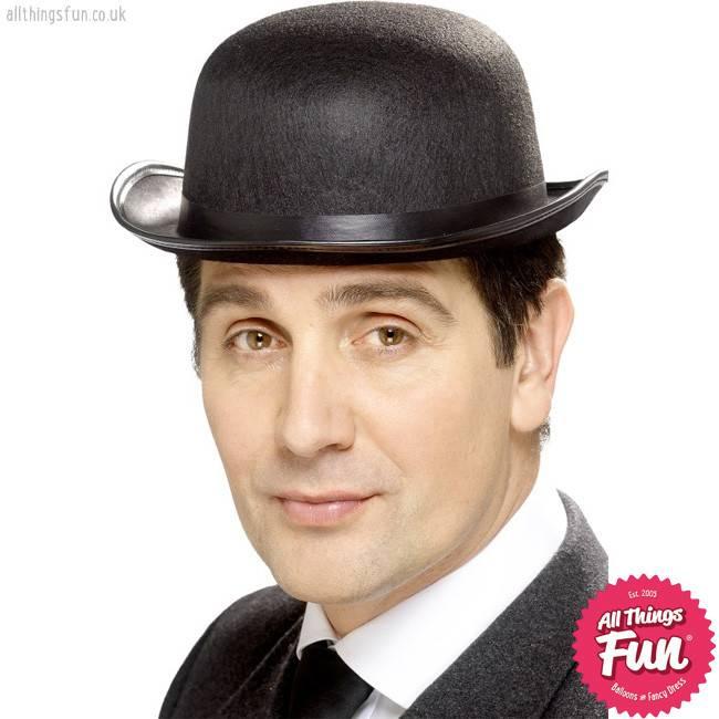 Smiffys Black Bowler Hat