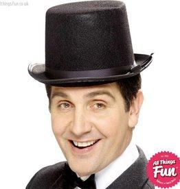 Smiffys Black Topper Hat