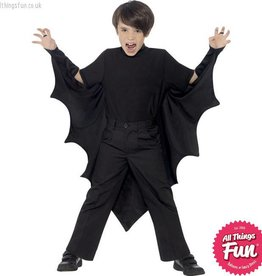 Smiffys Black Vampire Bat Wings