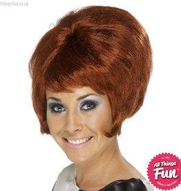Smiffys Auburn 60's Beehive Wig
