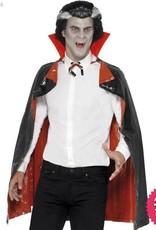 Smiffys Black & Red PVC Reversible Vampire Cape