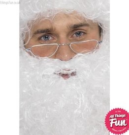 Smiffys Santa Half Moon Specs