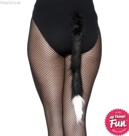 Smiffys Black Fur Cat's Tail