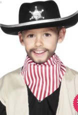 Smiffys Childs Black Sheriff Hat