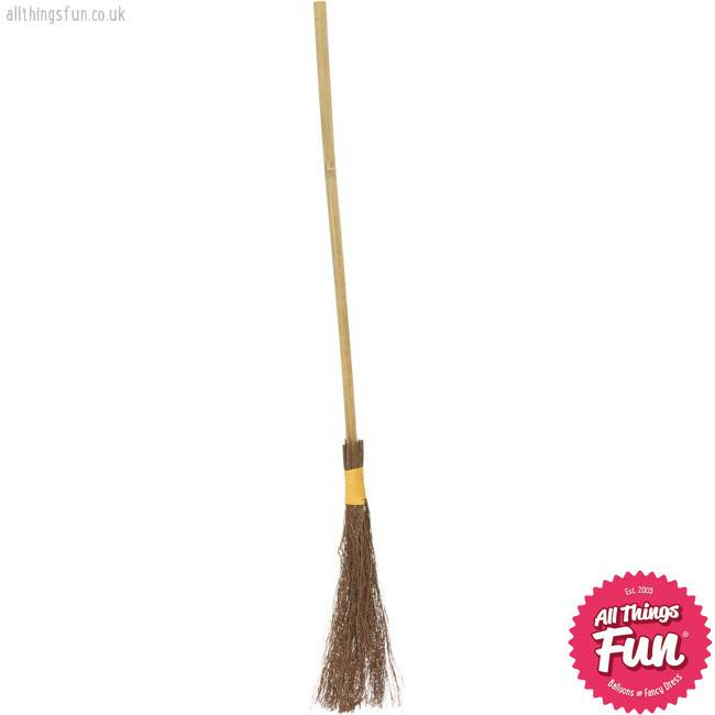 Smiffys Authentic Witch's Broom