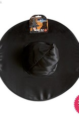 Smiffys Black Shiny Witch Hat
