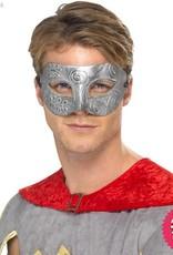 Smiffys Metallic Warrior Colombina Silver Eyemask