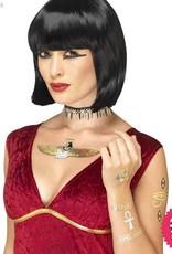 Smiffys Egyptian Metallic Transfer Tattoos
