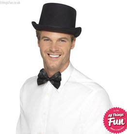 Smiffys Black Satin Look Top Hat