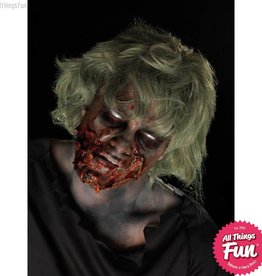Smiffys Zombie Make-Up Kit with Paints, Dirt, Latex & Blood