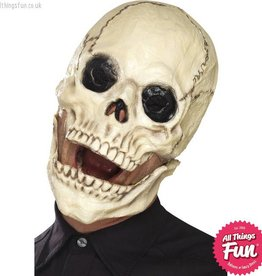 Smiffys Skull Mask, Foam Latex with Moving Jaw