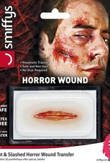 Smiffys Cut & Slashed Horror Wound Transfer