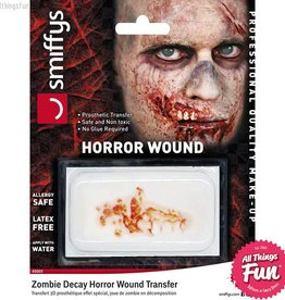 Smiffys *SP* Zombie Decay Horror Wound Transfer
