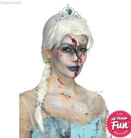 Smiffys Zombie White Froze To Death Wig