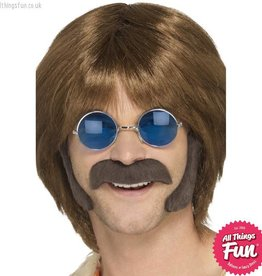 Smiffys Hippie Brown Disguise Set