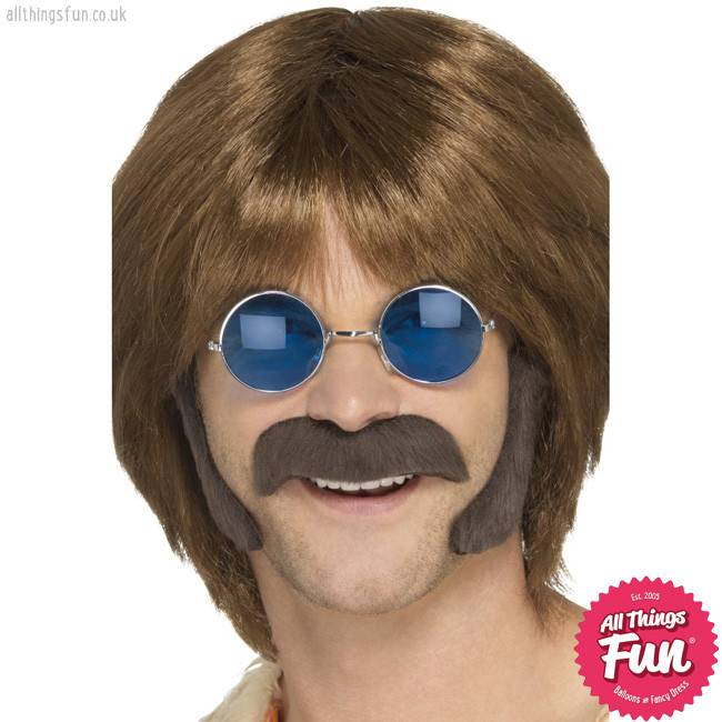 Smiffys Hippie Brown Disguise Set