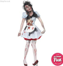 Smiffys Horror Zombie Countrygirl Costume