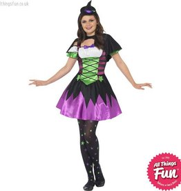 Smiffys *DISC* Punky Neon Witch Large
