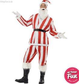 Smiffys Red & White Supporter Santa